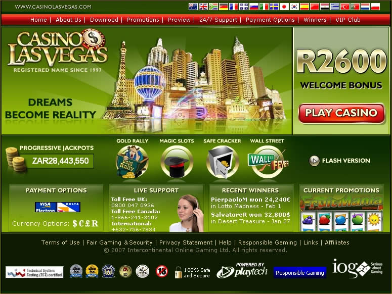 Las Vegas Online Casino For Fun
